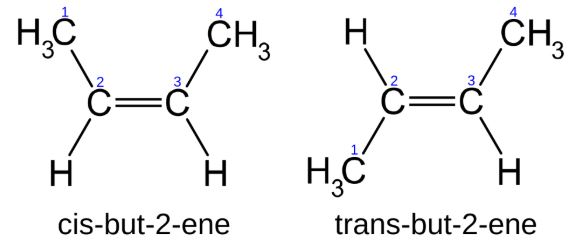 Cis Trans Isomers